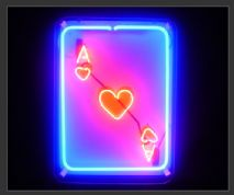Ace Card Neon Sign (NEON7)